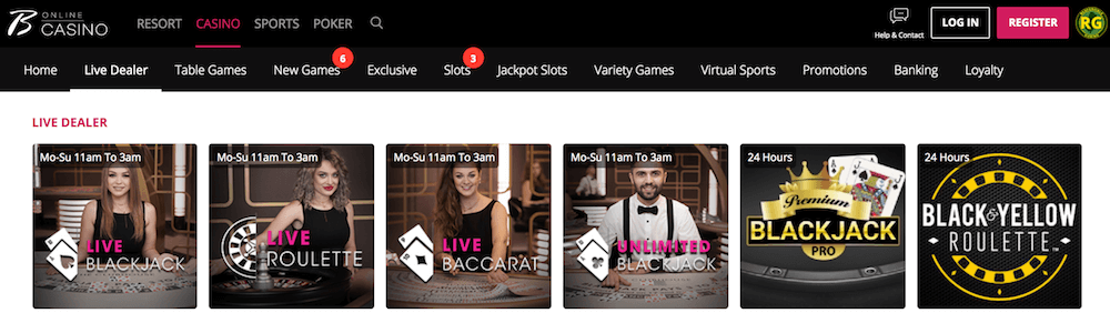 Borgata Casino Live Dealers