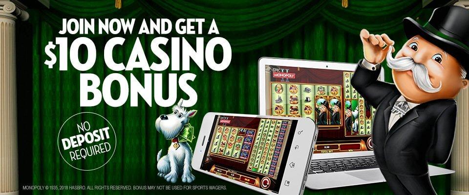 Caesars Casino Bonus $10 Free