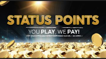 888 casino Status Points