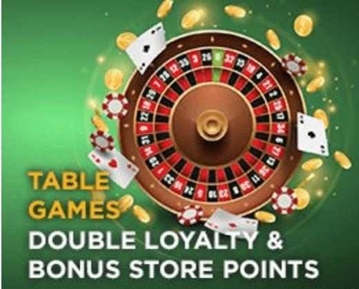 SugarHouse Reward Table Games