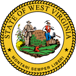 Seal of the state of West Virginia