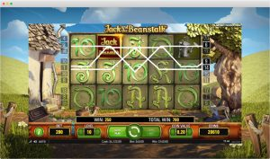 Jack and the beanstalk slot paylines