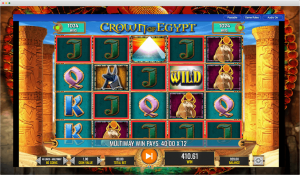 Crown of Egypt Slot feature