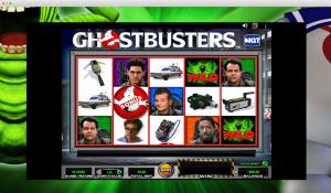 Ghostbusters Slot reels