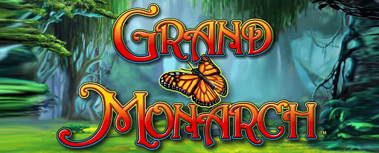 Grand Monarch Slot - Logo Header