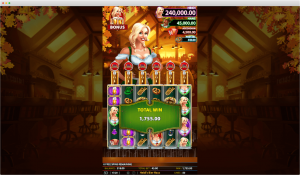 Heidi's Bier Haus Slot Feature