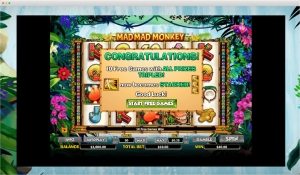 Mad Mad Monkey Slot Free Spins