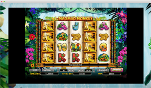 Mad Mad Monkey Slot Reels
