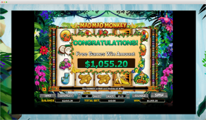 Mad Mad Monkey Slot Big Win