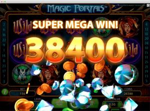 Magic portals Slot Super Mega Win
