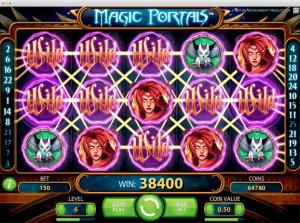 Magic portals Slot Wilds