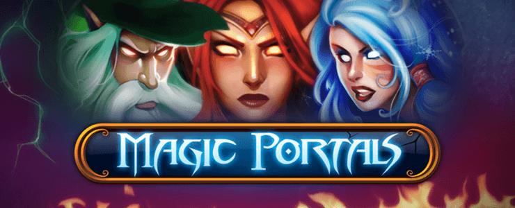 Magic portals Slot - Header Logo