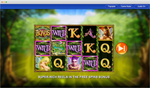 Pixies of the forest slot Payline