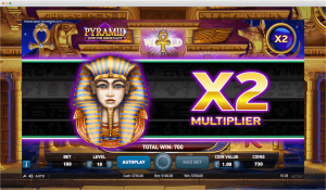 Pyramid Slot Multiplier