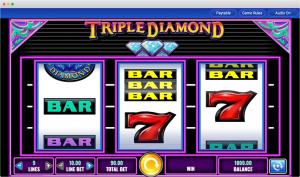 Triple diamond reels