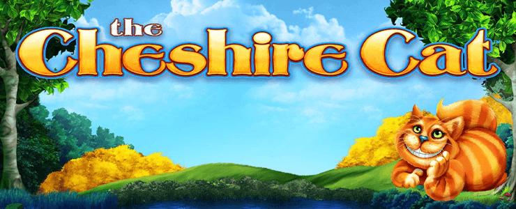 The Cheshire Cat Header Logo