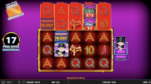 monopoly money in hand free spins