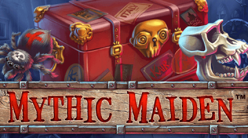 Mythic Maiden Slot Logo