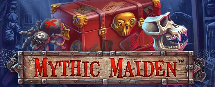 Mythic Maiden Slot Logo