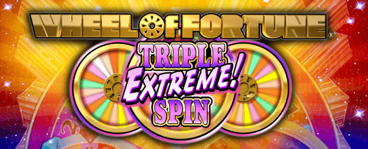 Wheel of Fortune - Triple Extreme Spin Logo
