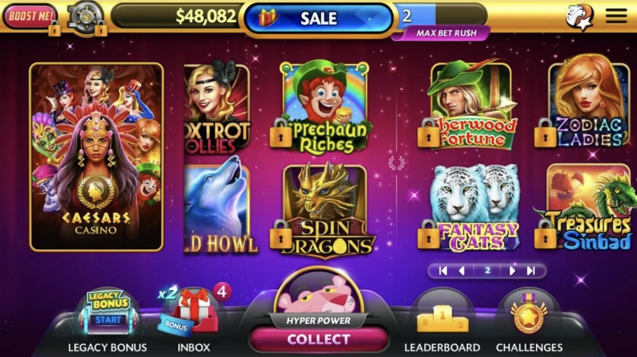 Caesar Slots App