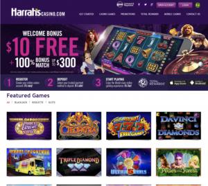 Harrahs Casino App Lobby