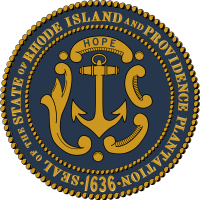 Rhode Island Online Gambling State Seal