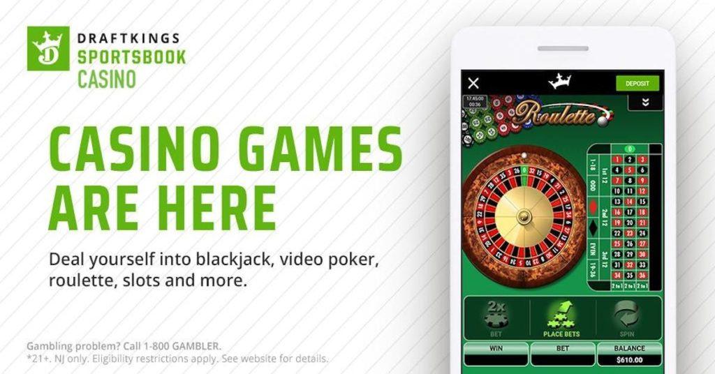 Draftkings slots casino games