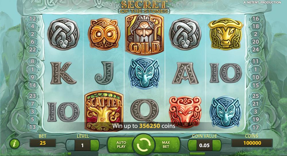 Secret of the Stones Slots