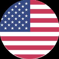 American Flag Round