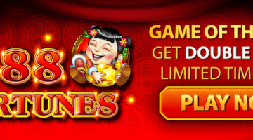 Double points on 88 Fortunes at Golden Nugget Casino