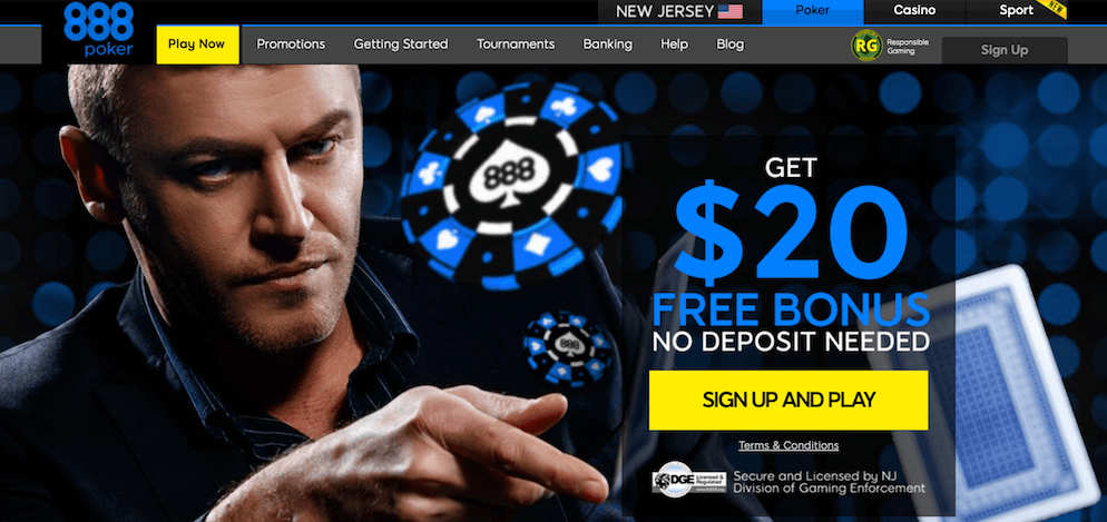 888poker New Jersey