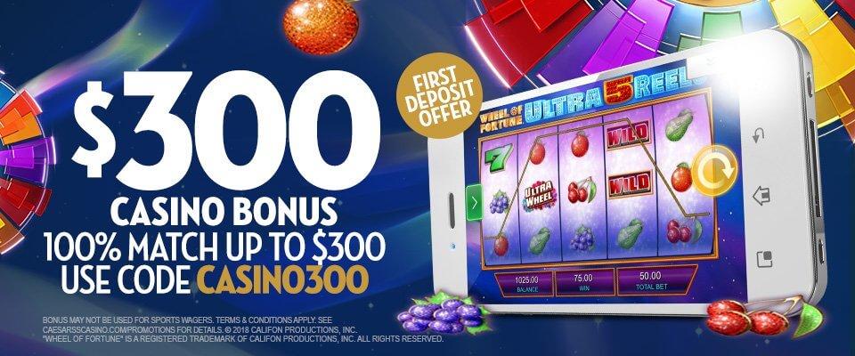 Caesarscasino $300 Bonus