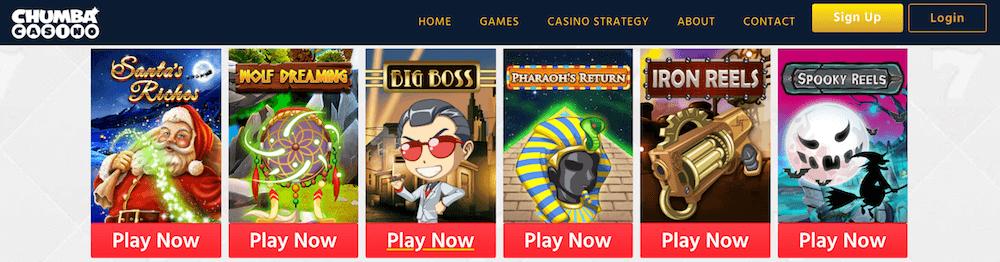 Chumba Casino Slots