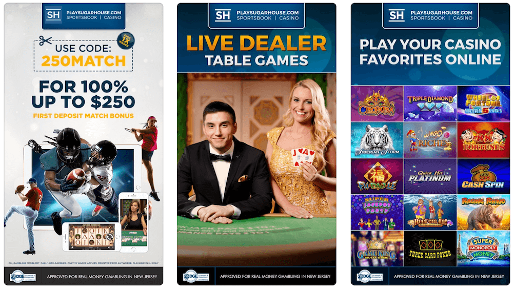 SugarHouse Casino App
