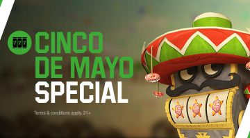 Cinco de Mayo special bonus at Unibet Casino