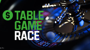 Table Game Race at Unibet
