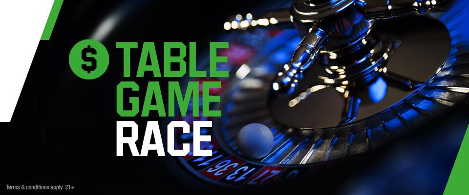 Unibet Table Game Race