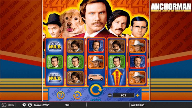 Anchorman Slot Machine