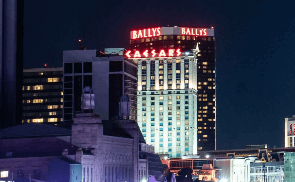 Ballys Atlantic City Skyline