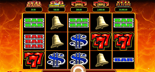 Hot Shot Progressive Slot