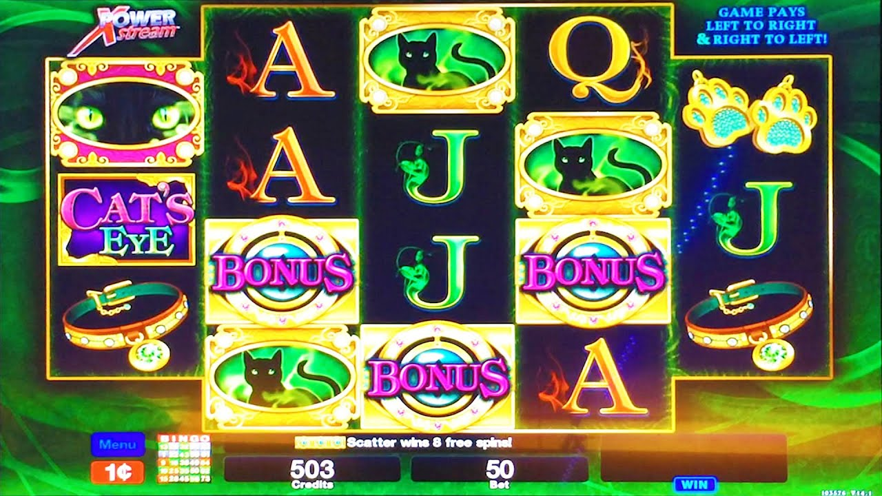 cats eye slot review