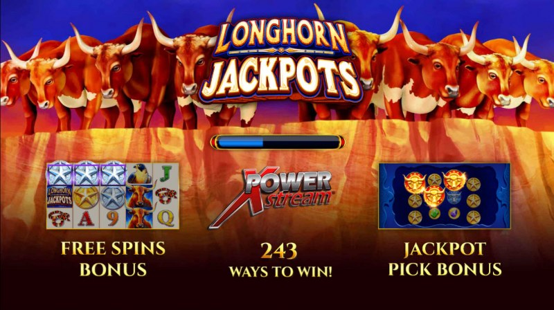 longhorn jackpots slot review