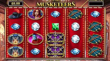 the kings musketeers slot