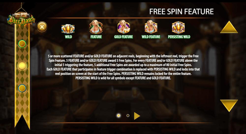Bier Haus Slot Free Spins
