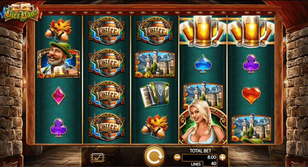 Bier Haus Slot Game View